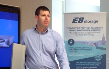 Zivan Ori, CEO d'E8 Storage