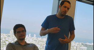 Deux cofondateurs d'Axonius : Dean Sysman (CEP) et Ofri Shur (CPO)
