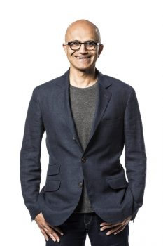 Satya Nadella, CEO chez Microsoft