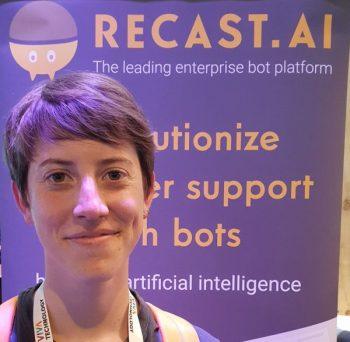 Jasmine Anteunis,co-fondatrice de Recast.AI