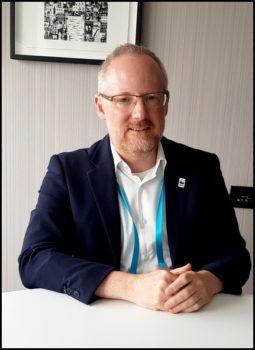 Samuel Harper, responsable des systèmes métier chez WWF international