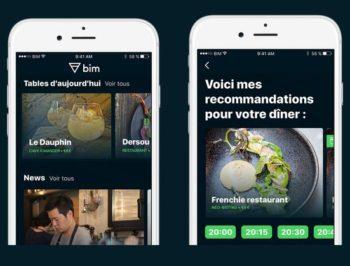 Bim : la fin de l'application mobile de réservations de tables de restaurants