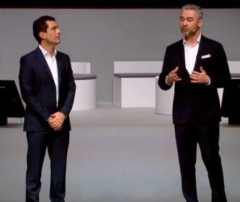 les codirigeants de Dell Technologies France: Stéphane Huet et Stéphane Barberet