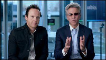 Ryan Smith, CEO de Qualtrics, et Bill McDermott, CEO de SAP
