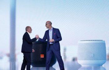 Alliance IA entre Stéphane Richard (Orange) et Timotheus Höttges (Deutsche Telekom)