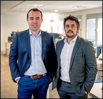 Julien Mathis et Romain Le Merlus, cofondateurs de Centreon