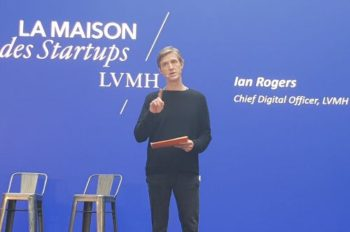 "Ian Rogers (Chief Digital Officer groupe LVMH): ""Collaborer avec le best-off des start-up"""