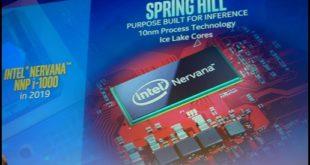 Les processeurs Intel envahissent le champ des réseaux neuronaux