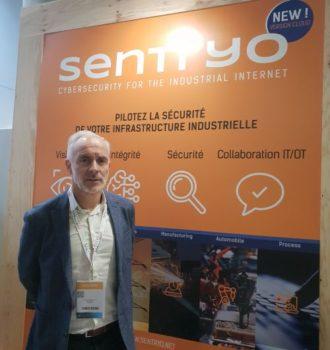 FIC 2019: Thierry Rouquet, président de Sentryo