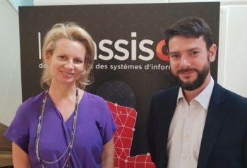 Florence Bertaut et Patrick Ménez (Groupe AXA)