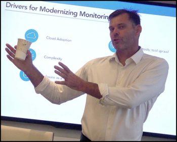 Steve Francis, fondateur et responsable produit de LogicMonitor.