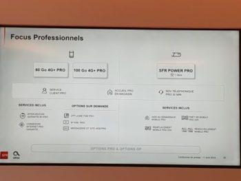 """SFR Business: focus pour la cible """"professionnels"""""""