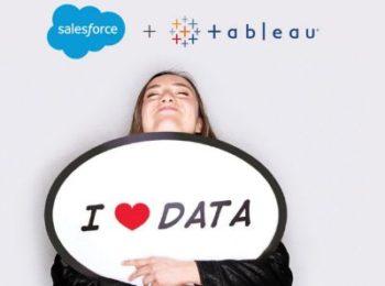 Salesforce acquiert Tableau Software: le CRM croque la visualisation des données