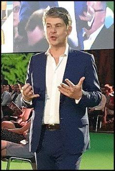 Alexandre Dayon, président en charge de la stratégie chez Salesforce