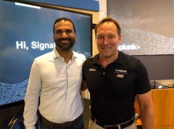 Doug Merritt (Splunk) et Karthik Rau (SignalFx)