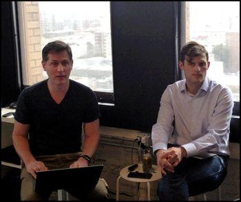 George Fraser et Taylor Brown, cofondateurs de Fivetran
