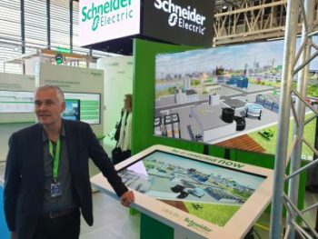 Serge Catherineau, Schneider Electric