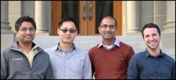 Les cofondateurs d'Alation: Venky Ganti, Feng Niu, Satyen Sangani et Aaron Kalb.