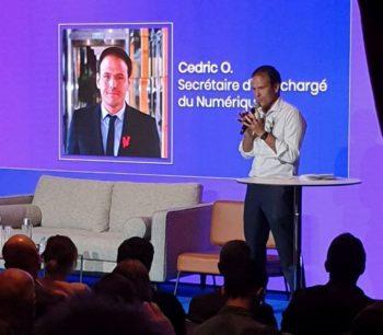 France Digitale Day: Cédric O, secrétaire d'Etat au Numérique