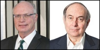 Bill Stein, CEO de Digital Realty, et David Ruberg, CEO d'Interxion