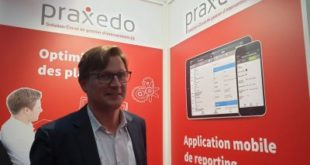 Jean de Broissia, Praxedo: «L'équipement connecté, préalable à la maintenance préventive»