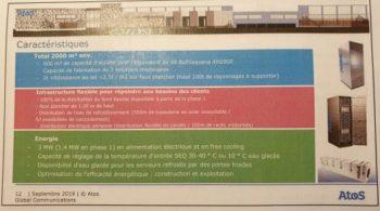 Atos - centre d'essais HPC: quelques détails techniques