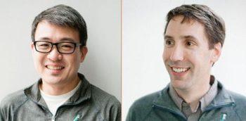 Google rachète Fitbit: photo des fondateurs