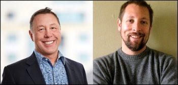 Les cofondateurs de Ping: André Durant et Bryan Field-Elliot