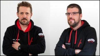 Guillaume Vassault-Houlière et Manuel Dorne, cofondateurs de YesWeHack