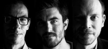 Les cofondateurs de Yogosha : Yassir Kazar, Kevin Liagre et Fabrice Epelboin