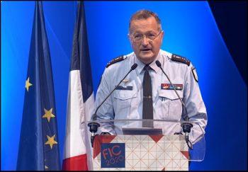 Le général Christian Rodriguez, directeur de la gendarmerie nationale