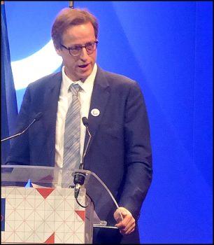 Jean-Noël de Galzain, président d'Hexatrust et dirigeant de Wallix