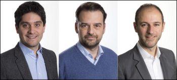 Les cofondateurs de ForePaaS : Paul Sinaï, Vincent Michel et François Vaillant
