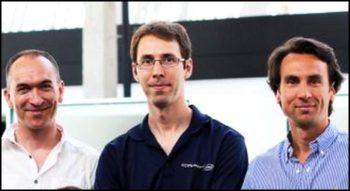 Les cofondateurs d'Invenis: Pascal Chevrot (CEO), Benjamin Quétier (CTO) et Grégory Serrano (CSMO)