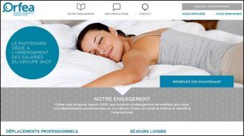 Orfea, un hébergement pour les employés SNCF accessible via un site web sécurisé