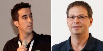 Les cofondateurs d'Atera : Oshri Moyal et Gil Pekelman