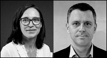 Caroline Comet Fraigneau, VP développement chez OVHcloud et Frédéric Malicki, directeur technique chez Atos.
