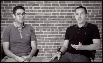 Armon Dadgar et Mitchell Hashimoto, cofondateurs et co-CTO d'Hashicorp.