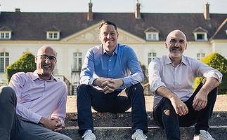 Les cofondateurs d'Opendatasoft : David Thoumas, Franck Carassus et Jean-Marc Lazard