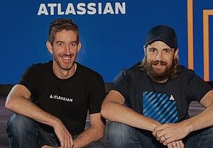 les cofondateurs d'Atlassian: Scott Farquhar et Mike Cannon-Brookes