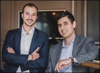 Jawad Benjelloun et Ali Lazaar, cofondateurs d'Asterigo