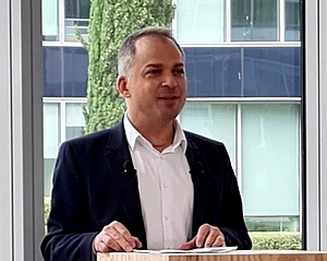 Elie Girard, directeur général du Groupe Atos
