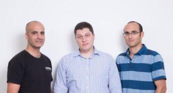 Les cofondateurs de Forter: Alon Shemesh, Michael Reitblat et Liron Damri