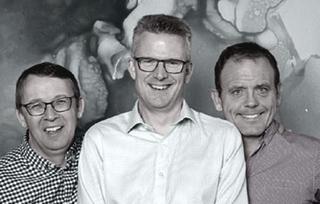 Les cofondateurs de StarLeaf : Mark Richer, Mark Loney et William MacDonald.