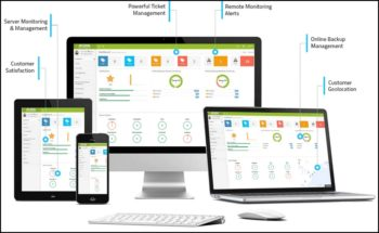 Atera: une solution complète de gestion du parc informatique (cloud compris), sur site ou en mobilité.
