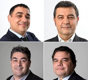 Les cofondateurs de Datavalue Consulting : Refaï El Khattabi, Abdelaziz Joudar, Sébastien Narme et Abderrahim Rizki.
