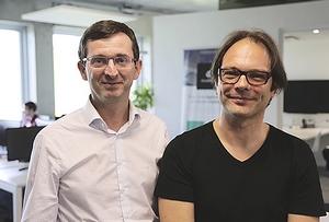 Guillaume Despagne et Marc Norlain, cofondateurs et co-CEO d'AriadNext