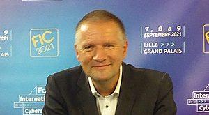 FIC 2021- Guillaume Poupard affiche sa satisfaction, bien qu'il soit toujours directeur de l'Anssi.
