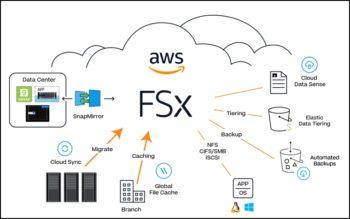 Amazon FSx for NetApp ONTAP procure ses multiples services sur le cloud (combinables avec ceux d'AWS)