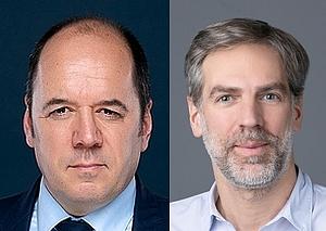 Fabien Petiau, directeur commercial, et Alexandre Cozette, Lead Solutions Architect chez OutSystems France